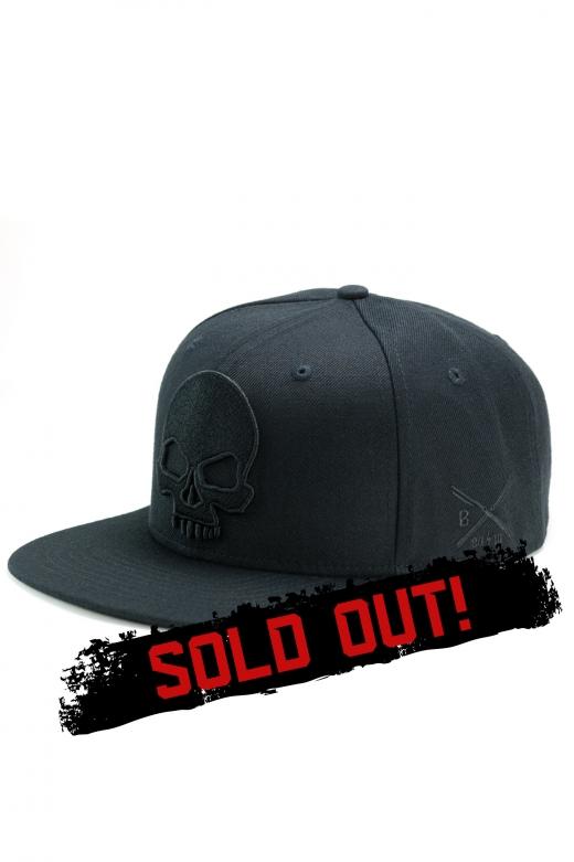 BADLY CAP SKULL BLACK