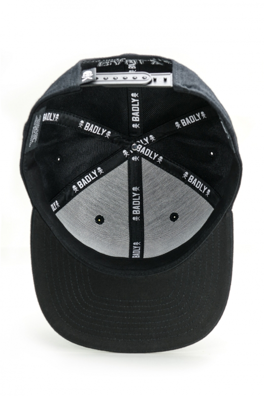 BADLY CAP SKULL BLACK